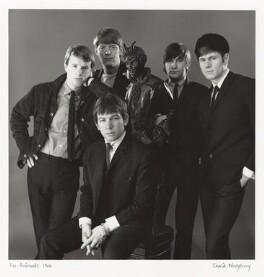 The Animals (John Steel; Chas Chandler; Eric Victor Burdon; Dave Rowberry; Hilton Valentine), by David Wedgbury - NPG x47355