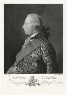 King George III, by William Woollett, after  Allan Ramsay - NPG D31704