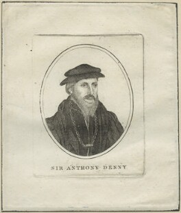 Sir Anthony Denny, after Unknown artist - NPG D24319
