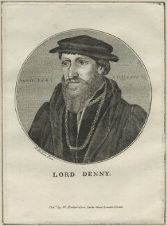 Sir Anthony Denny, after Hans Holbein the Younger - NPG D24321