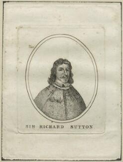 Sir Richard Sutton, after Unknown artist - NPG D24327