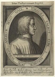 John Talbot, 1st Earl of Shrewsbury, after Unknown artist - NPG D31711