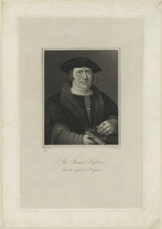 Sir Thomas Kitson, by Robert William Sievier, after  Hans Holbein the Younger - NPG D24330