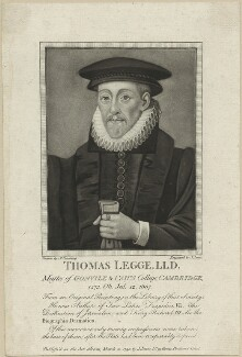 Sir Thomas Legge, by and published by John Jones, after  Silvester (Sylvester) Harding - NPG D24336