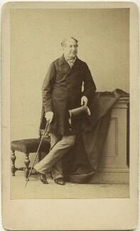 Benjamin Hall, 1st Baron Llanover, by Caldesi, Blanford & Co - NPG x44840