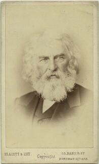 Henry Wadsworth Longfellow, by Elliott & Fry - NPG x17943