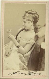Pauline Lucca, by Heinrich Graf - NPG x36273
