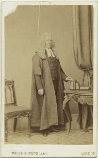 Sir Robert Lush, by Maull & Polyblank - NPG x20167