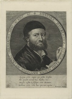 Hans Holbein the Younger, probably by and published by Lucas Vorsterman, after  Hans Holbein the Younger - NPG D24341