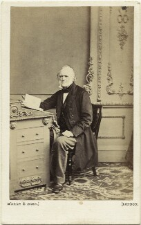 Sir Charles Lyell, 1st Bt, by McLean & Haes - NPG x45099