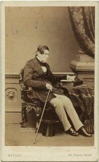 John Singleton Copley, Baron Lyndhurst, by Mayall - NPG x20195