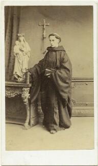Father Ignatius (Joseph Leycester Lyne), by Mason & Co (Robert Hindry Mason), 1864 - NPG x76790 - © National Portrait Gallery, London