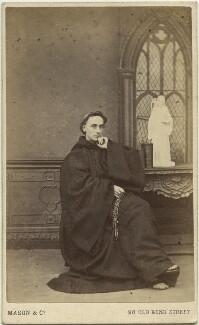 Father Ignatius (Joseph Leycester Lyne), by Mason & Co (Robert Hindry Mason), circa 1864 - NPG x12118 - © National Portrait Gallery, London