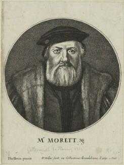 Charles de Solier, Sieur de Morette, by Wenceslaus Hollar, after  Hans Holbein the Younger - NPG D24352