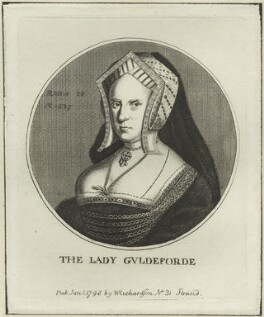 Mary (née Wotton), Lady Guildford, published by William Richardson, after  Wenceslaus Hollar - NPG D24363