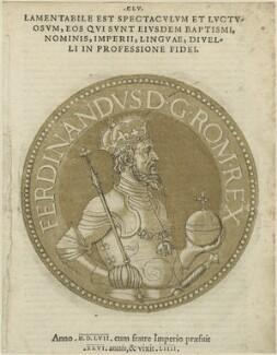 Ferdinand I, Holy Roman Emperor, after Unknown artist - NPG D24769