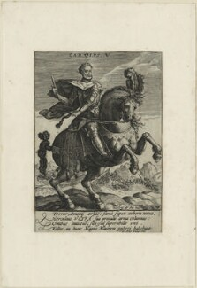 Charles V, Holy Roman Emperor, after Giovanni Ens - NPG D24772