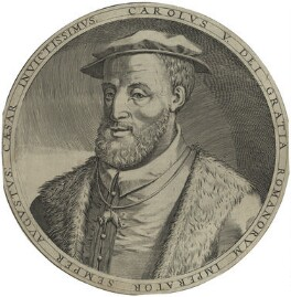 Charles V, Holy Roman Emperor, after Unknown artist, possibly 18th century - NPG D24773 - © National Portrait Gallery, London