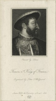 François I (Francis I), King of France, by J.T. Wedgwood, after  Titian - NPG D24776
