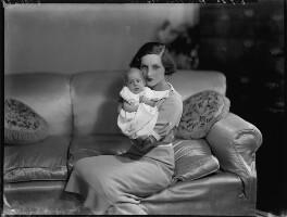(Edward) John Mansel Hugh Frampton Child-Villiers; Mary Barbara Child-Villiers (née Frampton), by Bassano Ltd - NPG x151666