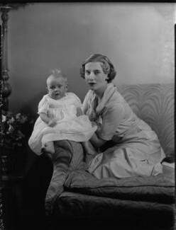 Countess Fitzwilliam and daughter, by Bassano Ltd - NPG x151683