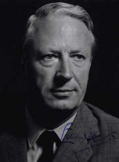 Sir Edward Heath, by Robert Enever - NPG x17470
