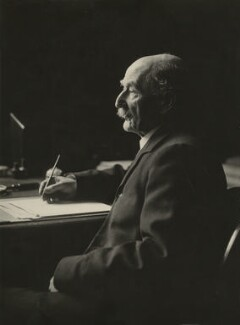 Thomas Hardy, by Olive Edis - NPG x17356