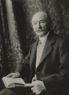 Thomas Hardy, by Olive Edis - NPG x17363