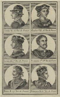 Kings of France, after Unknown artist - NPG D24778