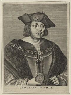 Guillaume de Croÿ, possibly by Nicolas de Larmessin - NPG D24781