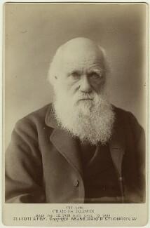 Charles Darwin, by Elliott & Fry - NPG x5937