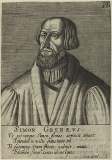 Simon Grynaeus, after Unknown artist - NPG D24782