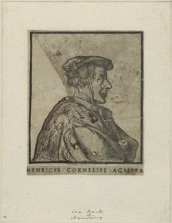 Heinrich Cornelius Agrippa, after Unknown artist, perhaps 17th century - NPG D24788 - © National Portrait Gallery, London