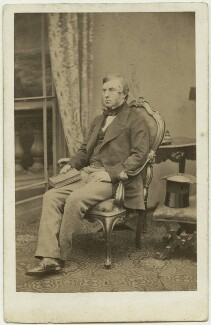 William Cavendish, 7th Duke of Devonshire, by Maull & Polyblank, early-mid 1860s - NPG x8027 - © National Portrait Gallery, London