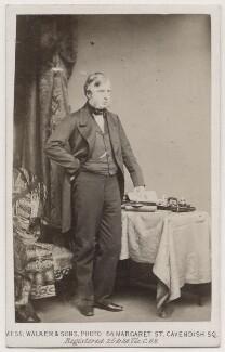 William Cavendish, 7th Duke of Devonshire, by William Walker & Sons, 1863 - NPG Ax7406 - © National Portrait Gallery, London