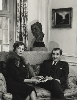 Sir Robert Mayer and Dorothy Moulton-Mayer, by Herbert K. Nolan - NPG x24197