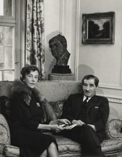 Sir Robert Mayer and Dorothy Moulton-Mayer, by Herbert K. Nolan - NPG x24197
