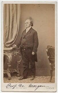 Augustus De Morgan, by Maull & Polyblank - NPG x11866