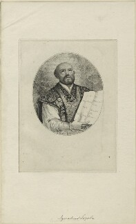 Ignatius Loyola, after Unknown artist - NPG D24793