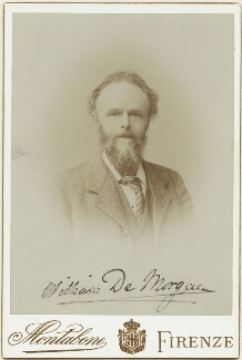 William De Morgan, by Luigi Montabone - NPG x1348