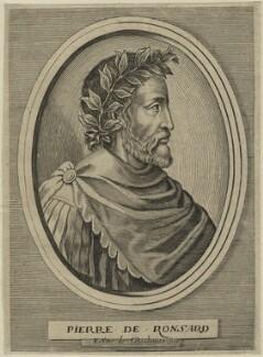 Pierre de Ronsard, by Edme de Boulonois - NPG D24797