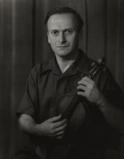 Yehudi Menuhin, by Howard Coster - NPG x2027
