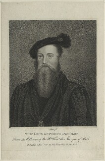 Thomas Seymour, Baron Seymour, by William Platt - NPG D24820