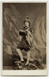 Lizzie Weston (née Elizabeth Jackson), by Southwell Brothers - NPG x27357