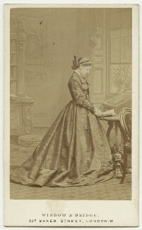 Lizzie Weston (née Elizabeth Jackson), by Window & Bridge - NPG x27358
