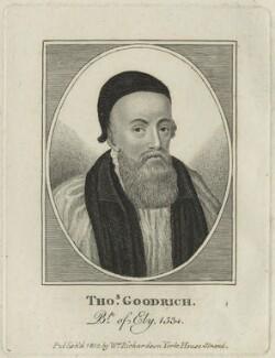 Thomas Goodrich (or Goodricke), after Unknown artist - NPG D24830