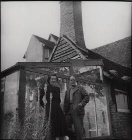 Irina Anatolia Moore (née Radetzki); Henry Moore, by Francis Goodman - NPG x39489