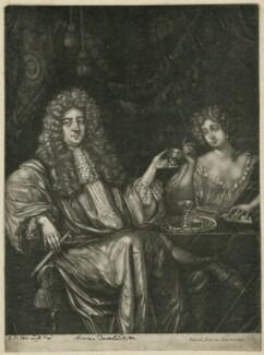 Hadriaan (Adrian) Beverland, by Pieter Schenck, after  G.D. Vois - NPG D31743