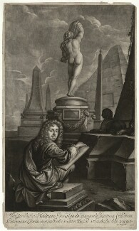 Hadriaan (Adrian) Beverland, by Isaac Beckett, published by  John Smith, after  Simon du Bois - NPG D31745