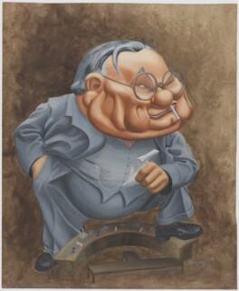 Ernest Bevin, by Geoffrey Davien - NPG D31746